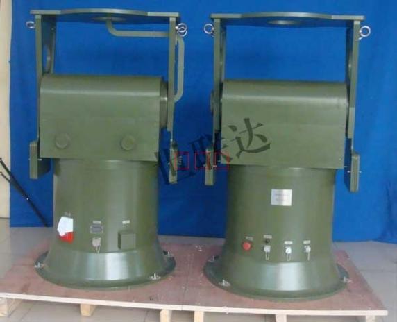 福建两轴伺服转台SLD-2S1638